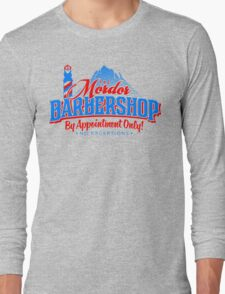Mordor Barbershop Long Sleeve T-Shirt
