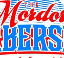 Mordor Barbershop Sticker