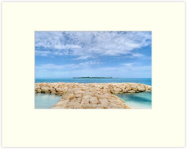 Saunders Beach in Nassau, The Bahamas by 242Digital