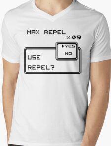 USE MAX REPEL? Mens V-Neck T-Shirt