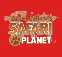 Brian Fellow's Safari Planet Kids Tee