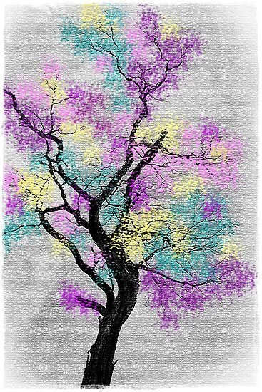 ~ The Rainbow Tree ~ by Alexandra  Lexx Larsson