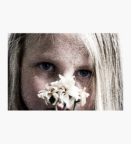 Flower Girl 2 Photographic Print