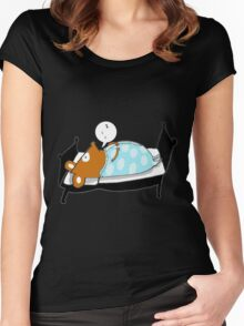 Good night Willy Women's Fitted Scoop T-Shirt