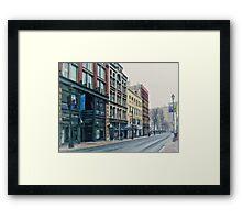Halifax Nova Scotia Framed Print