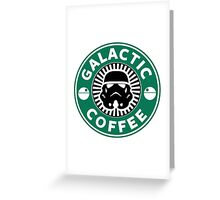 I like my coffee dark. Greeting Card