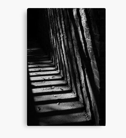 Passage shadows Canvas Print