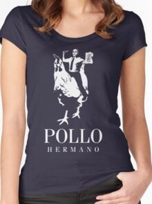 POLLO HERMANO Women's Fitted Scoop T-Shirt