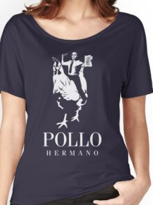 POLLO HERMANO Women's Relaxed Fit T-Shirt