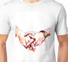 Watercolor Harry hands  Unisex T-Shirt