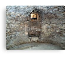 Christian Crypt of the 6th Century Canvas Print