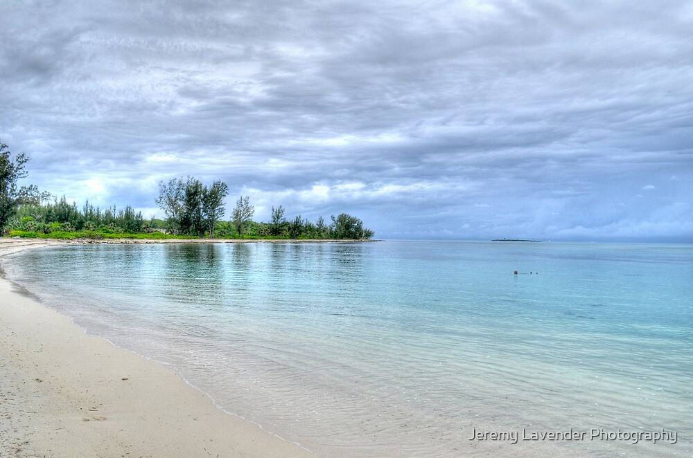 Jaws Beach in Nassau, The Bahamas by Jeremy Lavender Photography
