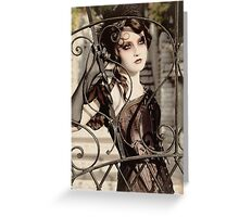 Bibian Blue - Lovelace Boudoir Greeting Card