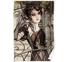 Bibian Blue - Lovelace Boudoir Poster