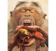 No More Fast Food! Photographic Print
