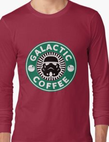I like my coffee dark. Long Sleeve T-Shirt