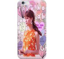 Gaby Teller Floral Pastels iPhone Case/Skin