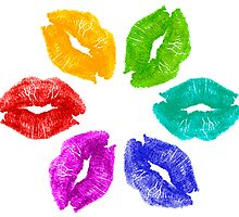 Color Kisses by BlinkImages
