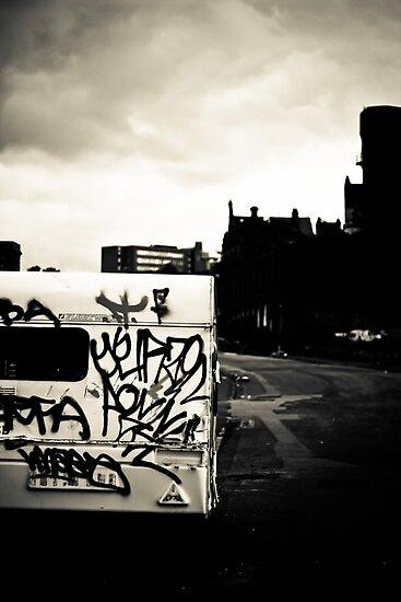 Black & White Town by Kieran Robinson
