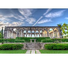 The Cloisters in Paradise Island, Nassau, The Bahamas Photographic Print