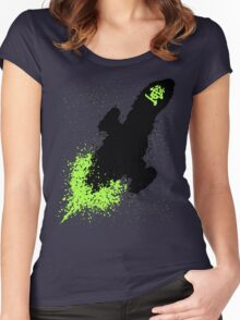 GLOW FLY! Women's Fitted Scoop T-Shirt