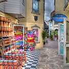 Commercial Alley in Nassau, The Bahamas by 242Digital