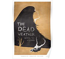 Dead Weather  gig poster Poster