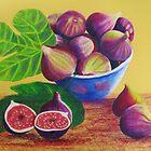 bowl of figs by Elena Malec