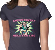 Empowerment: Mega Fangirl Womens Fitted T-Shirt