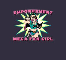 Empowerment: Mega Fangirl Womens Fitted T-Shirt