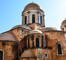 The The Agia Triada Monastery by christof1395