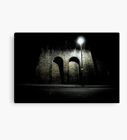 Lonely Roads Canvas Print