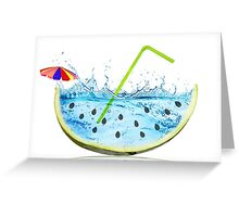 drink the summer Greeting Card