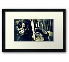 Black Rider Framed Print