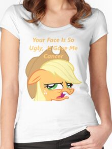 AppleJack Women's Fitted Scoop T-Shirt