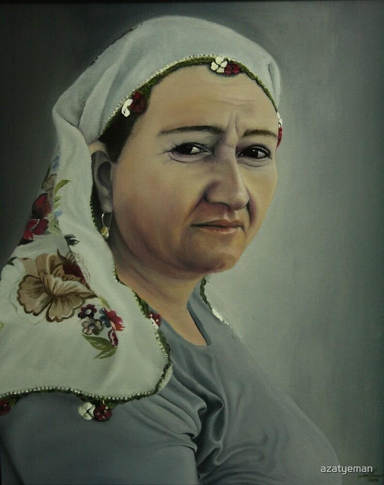 My mom by azatyeman