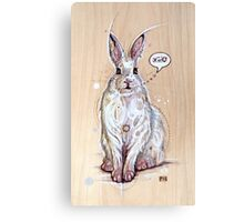 Snow bunny 2 Canvas Print