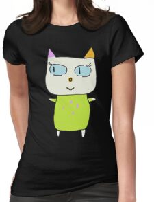 Alex the Cat Womens Fitted T-Shirt
