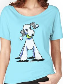 Bedlington Terrier Let's Play Women's Relaxed Fit T-Shirt