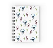 dancing jellies Spiral Notebook