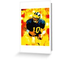 Mr. Tom Brady at Michigan Greeting Card