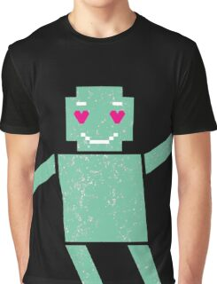 Robot in love Graphic T-Shirt