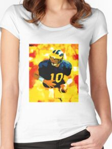 Mr. Tom Brady at Michigan Women's Fitted Scoop T-Shirt
