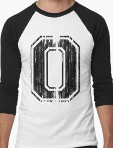 Bold Distressed Sports Number 0 T-Shirt