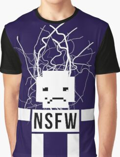NSFW ROBOT Graphic T-Shirt