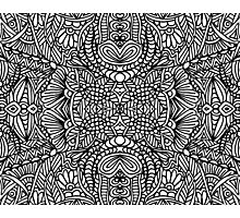 Zentangle Photographic Print
