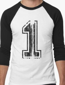 Bold Distressed Sports Number 1 T-Shirt