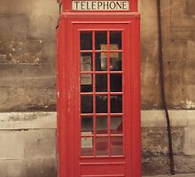 Phone Booth by Seledyna