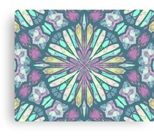 Purple Kaleidoscope Canvas Print