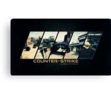 CS:GO Map poster Canvas Print